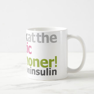 Diabetic Marathoner - I Run On Insulin Coffee Mug