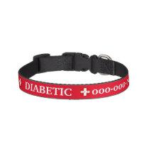 Diabetic pet medic alert emergency contact details pet collar