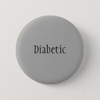 Diabetic Pinback Button