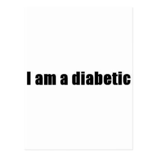 Diabetic Postcard