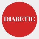 DIABETIC STICKER