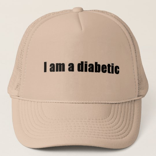Diabetic Trucker Hat