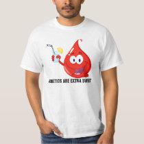 Diabetics are Extra Sweet T-Shirt