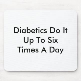 Diabetics Do It Mouse Pad