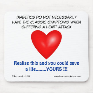Diabetics do not necessarily have mouse pad