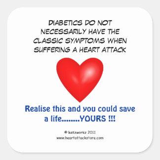 Diabetics do not necessarily have sticker