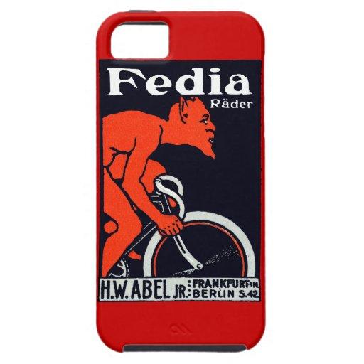 Diablo 1920 que monta una bicicleta iPhone 5 coberturas