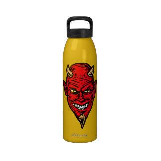 diablo botella de agua reutilizable