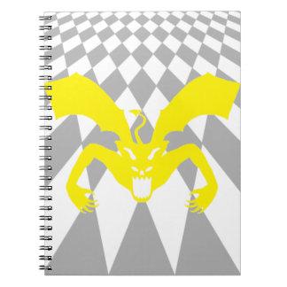 Diablo amarillo notebook