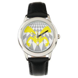Diablo amarillo reloj