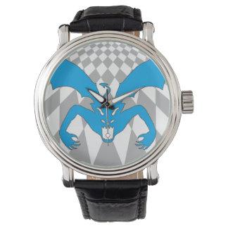 Diablo azul reloj