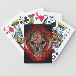 Diablo Bicycle Playing Cards