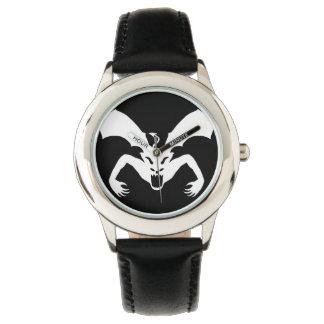 Diablo blanco reloj de mano