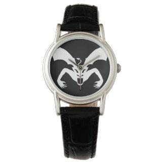 Diablo blanco relojes de mano