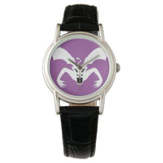 Diablo blanco relojes de pulsera