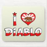Diablo, CA Alfombrillas De Raton