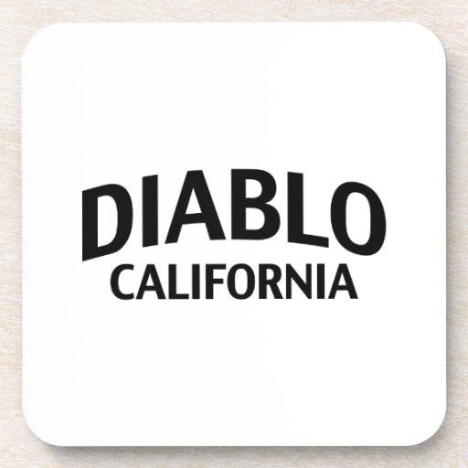 Diablo California Posavasos De Bebidas