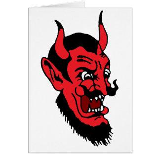 diablo chino tarjeta de felicitación