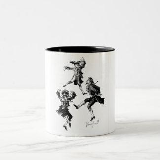 Diablo Dance Two-Tone Coffee Mug