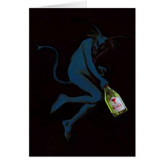 Diablo de consumición - tarjeta