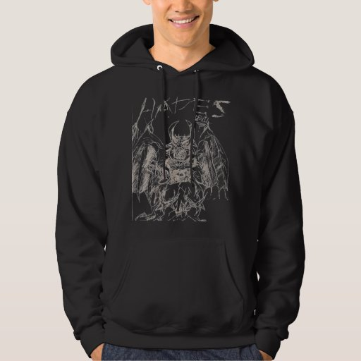 Diablo de Hades - modificado para requisitos Suéter Con Capucha