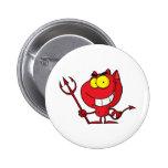 Diablo de Halloween del dibujo animado Pins