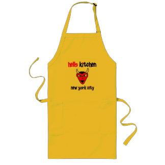 Diablo de la cocina del infierno Urban59 Delantal Largo