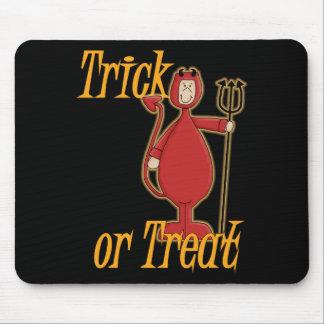 Diablo de Li'l del truco o de la invitación Mousepad