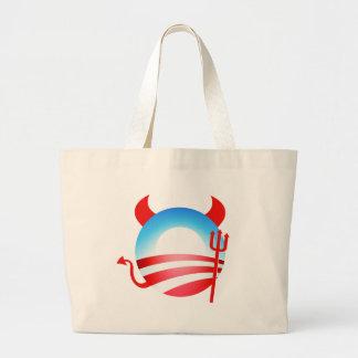 Diablo de Obama Bolsas De Mano