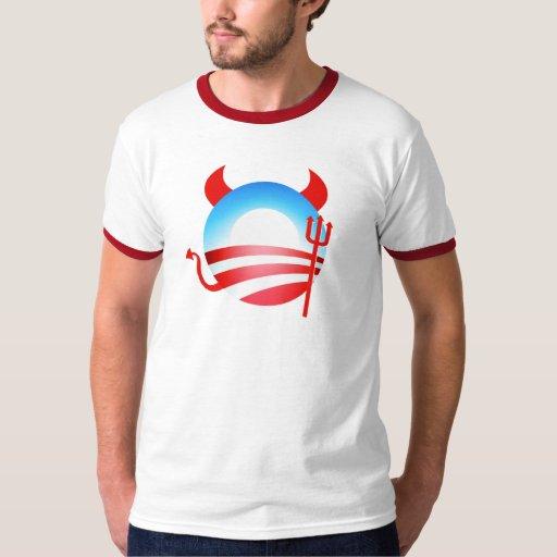 Diablo de Obama Camisas