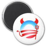 Diablo de Obama Iman Para Frigorífico
