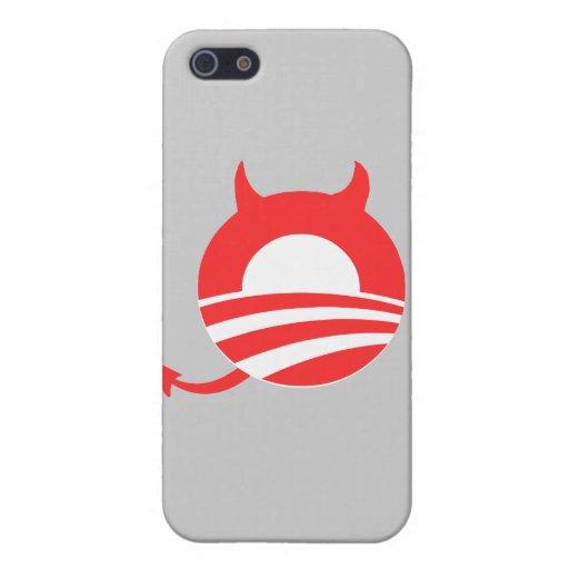Diablo de Obama iPhone 5 Protector