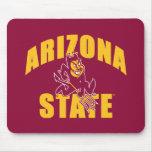 Diablo de Sun del estado de Arizona Alfombrilla De Ratones