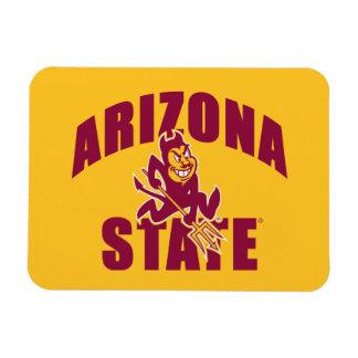 Diablo de Sun del estado de Arizona Imanes Flexibles
