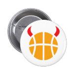 diablo del baloncesto pins