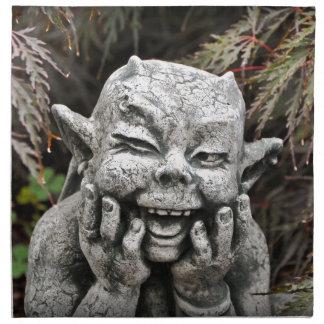 Diablo del jardín servilleta