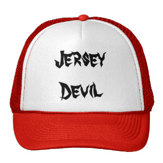 Diablo del jersey gorras de camionero