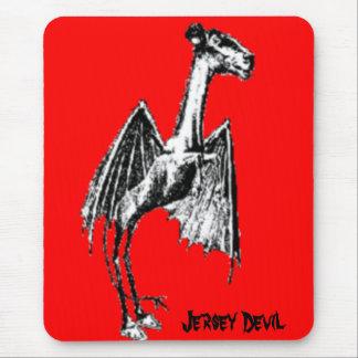 Diablo del jersey mouse pad