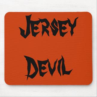 Diablo del jersey tapetes de ratones