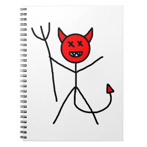 Diablo del palillo note book