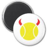 diablo del tenis imán