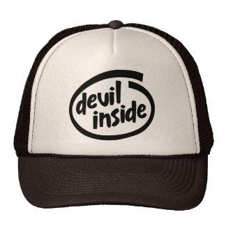Diablo dentro gorros