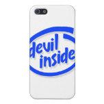 Diablo dentro iPhone 5 fundas