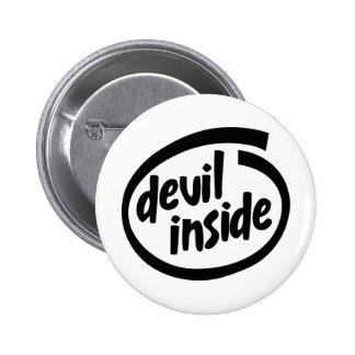 Diablo dentro pin