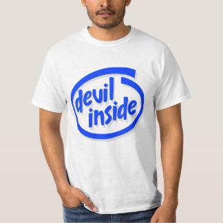 Diablo dentro remeras