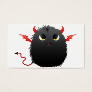 Diablo Furry Monster Business Card