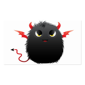 Diablo Furry Monster Double-Sided Standard Business Cards (Pack Of 100)