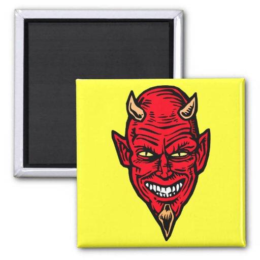 diablo imán cuadrado