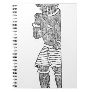 Diablo persa cuaderno