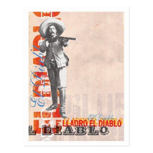 Diablo postcard